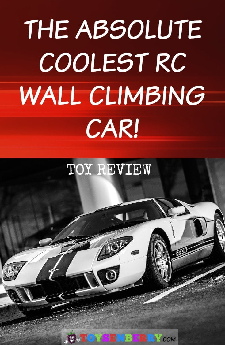 See why this is the best remote control wall climbing car ever! Great toy for kids!