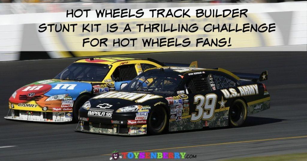 Hot Wheels Track Builder Sets will challenge Hot Wheels fans