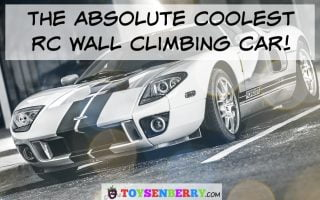 This is the Absolute Coolest RC Wall Climbing Car