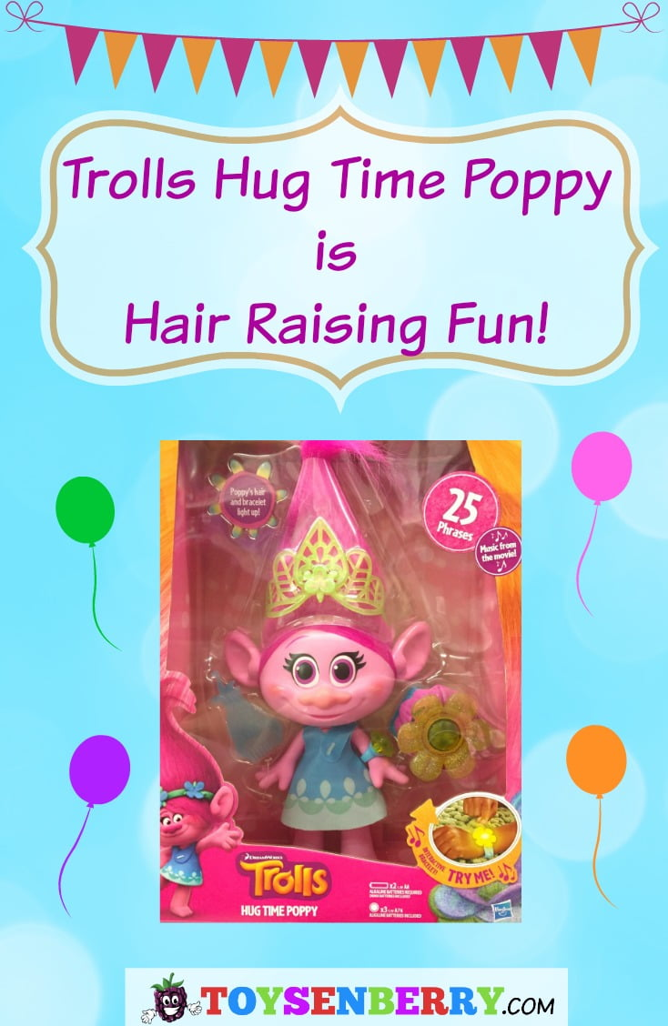 Trolls Hug Time Poppy doll review