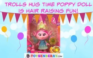 Trolls Hug Time Poppy Doll is Hair Raising Fun – Review