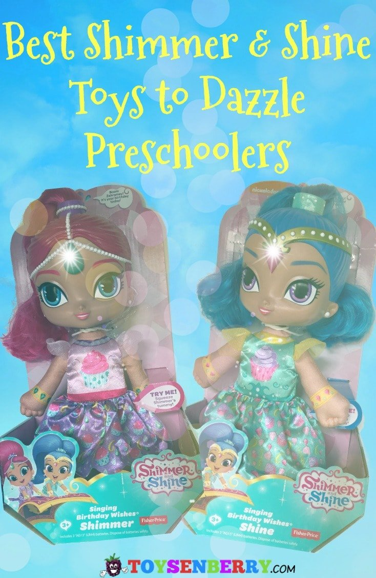 Shimmer and Shine Toys are big hits with preschoolers. Check out the best Shimmer and Shine toys here!