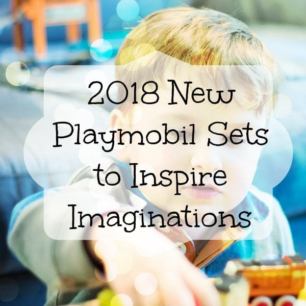 The 2018 new Playmobil sets include a gorgeous modern house, super cool Ghostbusters, an Aqua theme park and more. These charming sets will inspire kids' imaginations, for sure!