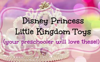 Disney Princess Little Kingdom toys for preschool girls