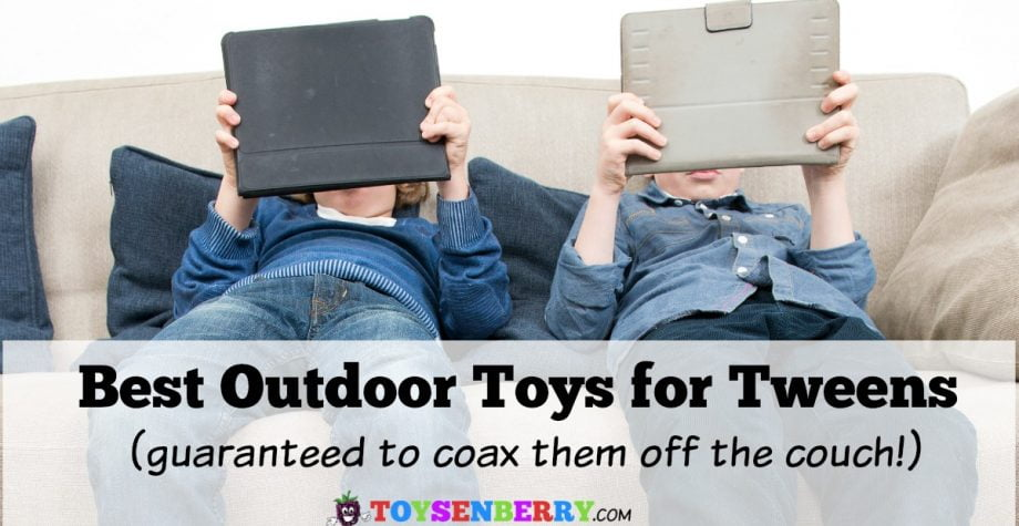 Best Outdoor Toys for Tweens to Coax Them Off the Couch