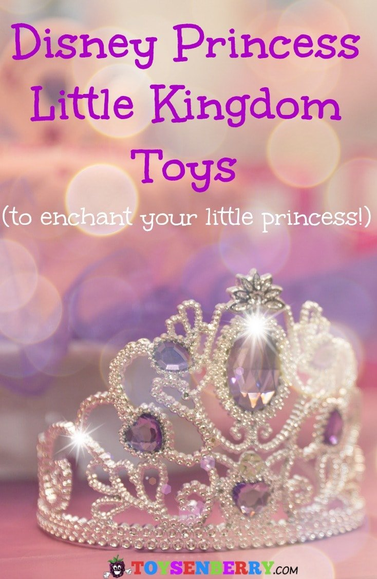 Disney Princess Little Kingdom Toys are designed for 4 and 5 year old girls. The cutest little playsets ever!