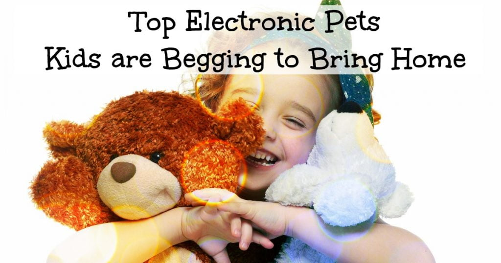 Electronic pets for kids
