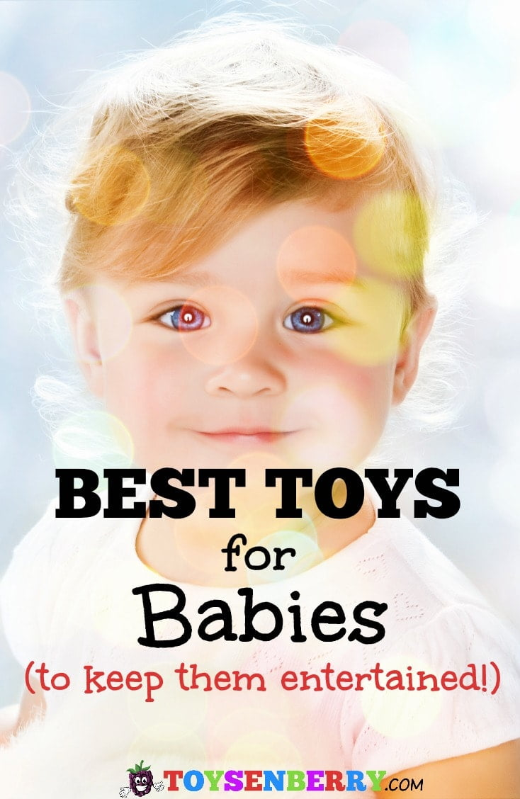 Check out the very best toys for babies, guaranteed to keep them entertained!