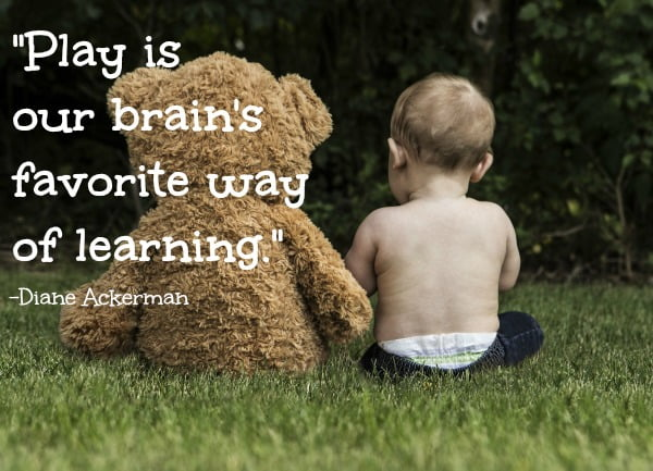 The best toys for babies help them to learn through playing.