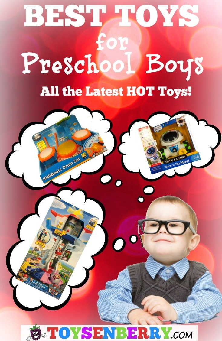 Check out the best toys for preschool boys with our latest toy guide!