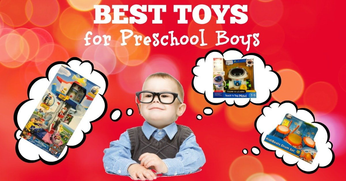 Best Toys for Preschool Boys - 2020 Top Toys for Preschoolers!