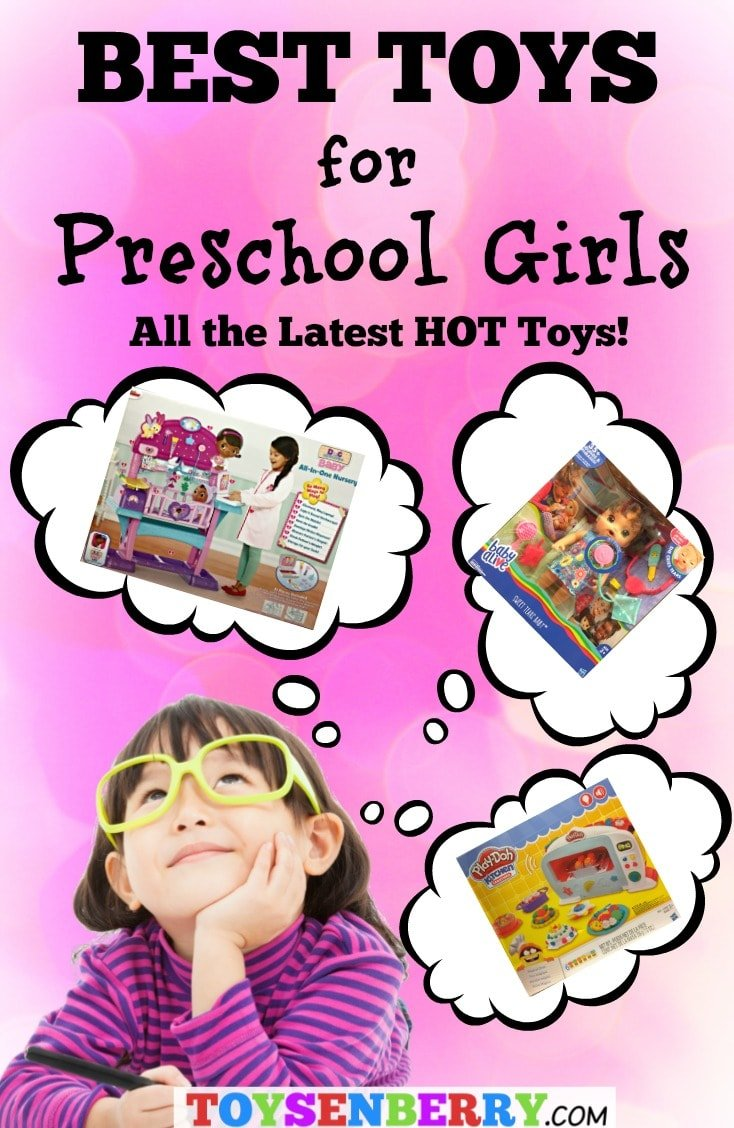 Looking for a gift for a preschool girl? Check out the best toys for preschool girls here!