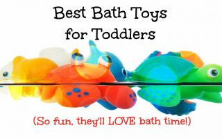 Best bath toys for toddlers to keep happy while in the bathtub!