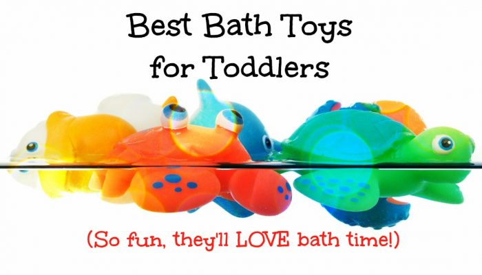 Best Bath Toys for Toddlers – These Will Make Your Toddler LOVE Bath Time!