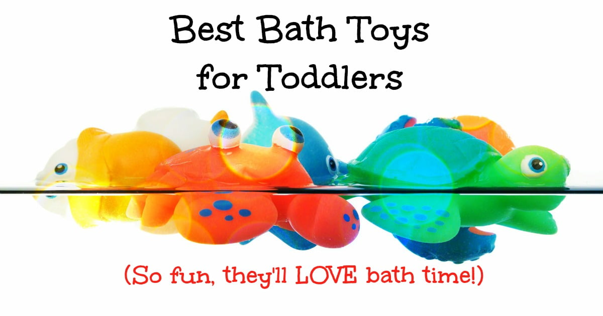 Best Bath Toys for Toddlers - 25 Toddler Bath Toys that Make Tubbing ...