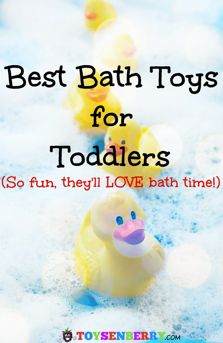 Check out the best bath toys for toddlers to keep your little one happy and entertained in the tub!