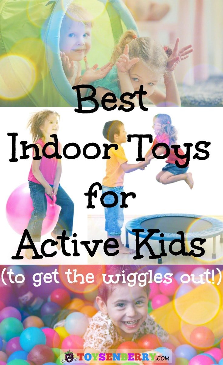Check out the best indoor toys for active kids to stay busy when they're stuck indoors. These are some real sanity savers for parents!