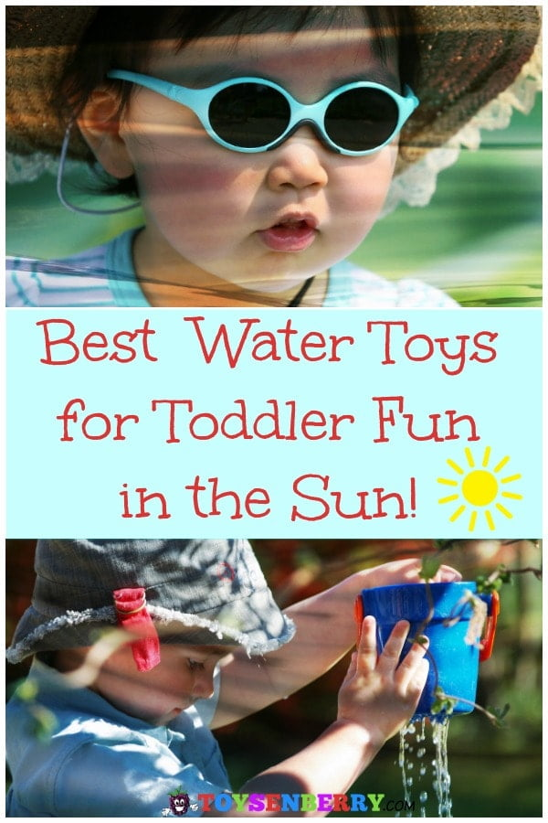 Check out these best water toys for toddlers to have fun in the backyard all spring and summer long!