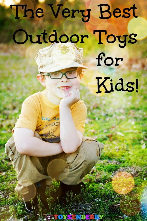 Check out these super fun outside toys for kids! These are the best outdoor toys for kids age 3 to 8. They'll have a blast all summer long with these!