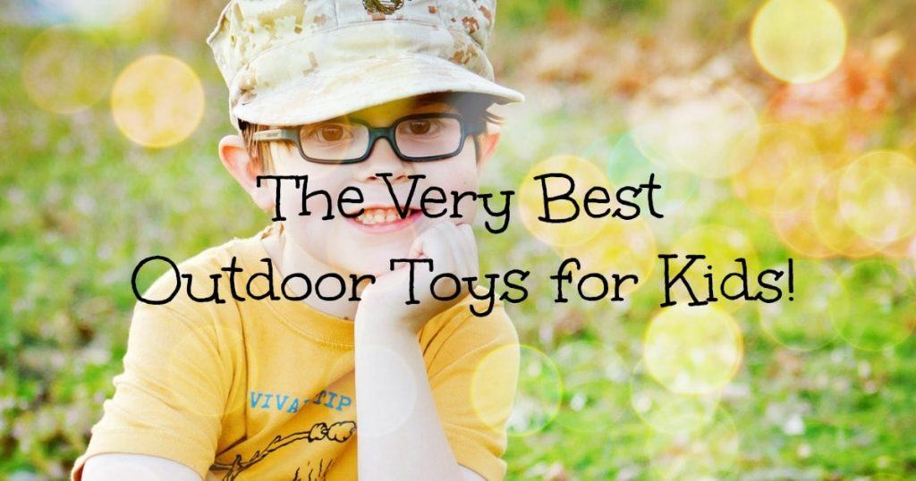 Best outdoor toys for kids to have a blast this summer