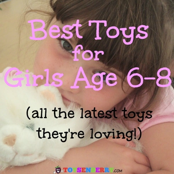 Looking for a gift for the little girl in your life? Check out the best toys for 6, 7 and 8 year old girls!