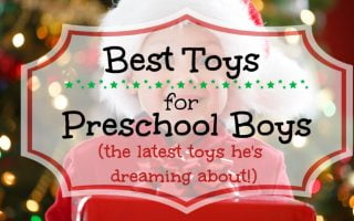 All the top toys for preschool boys