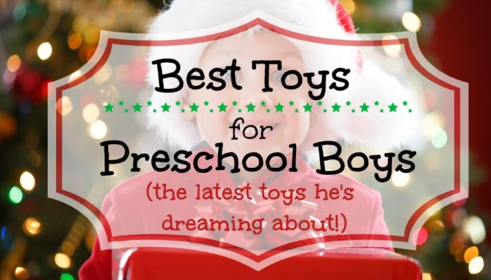 All the top toys for 3-year-old and 4-year-old boys