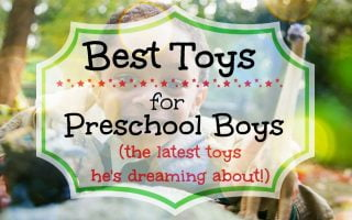 hottest toys for preschool boys