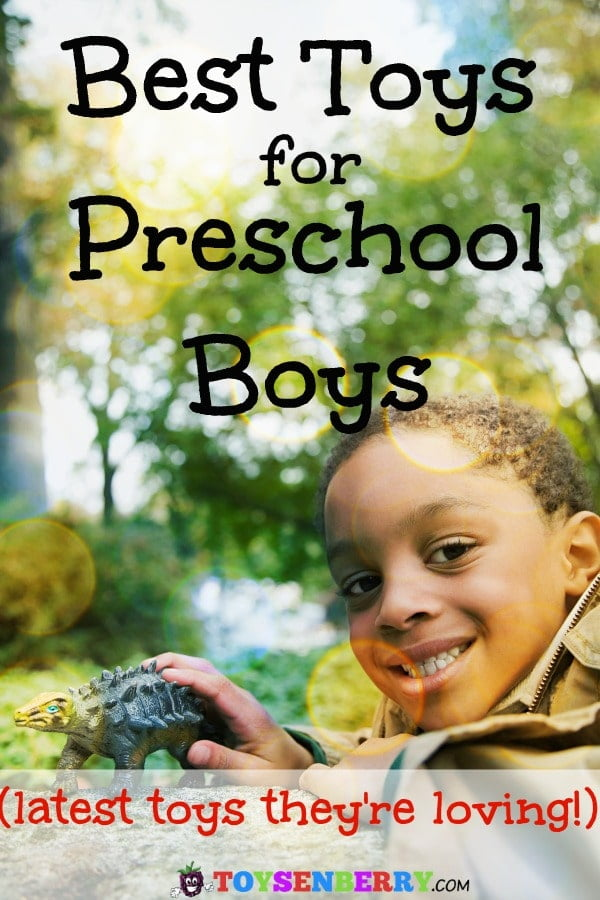 Check out the latest toys for preschool boys. All the best toys for 3, 4 and 5 year old boys!