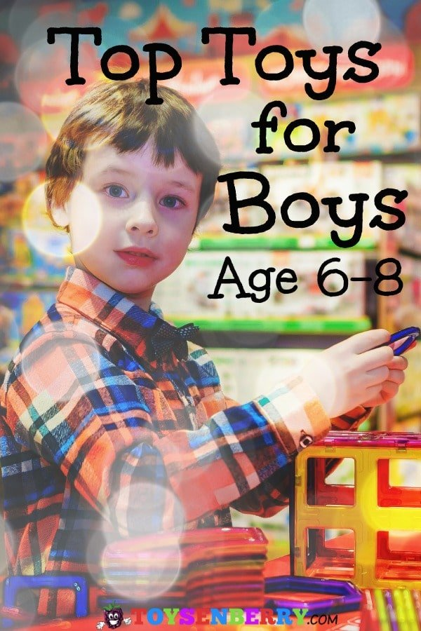 Best toys for boys ages 6 to 8