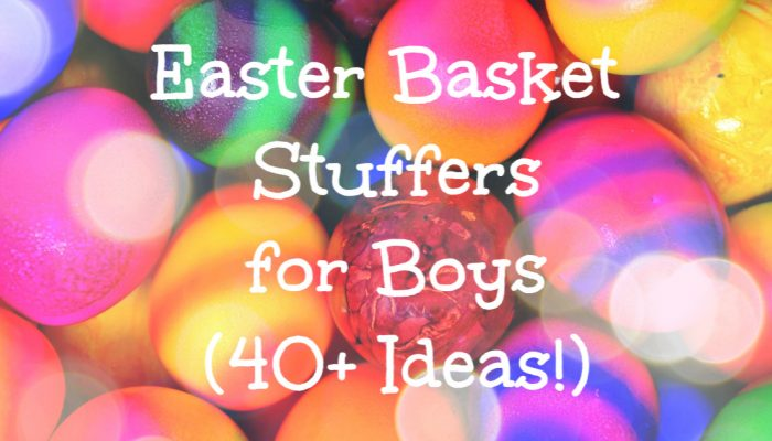 Easter gifts and basket stuffers for boys