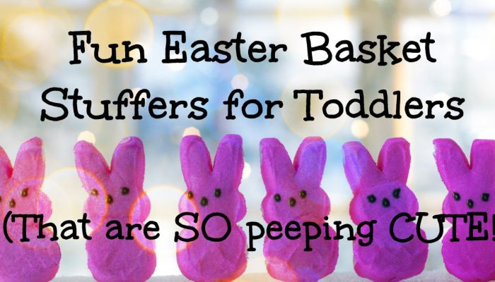 Easter basket gifts for toddlers